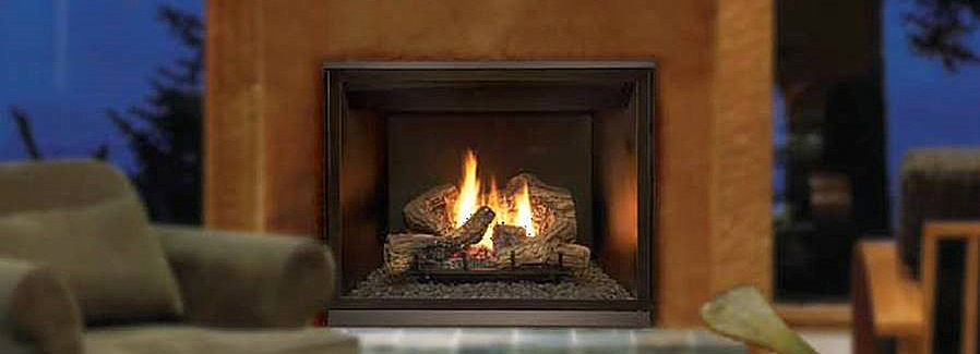 clearance gas fireplace