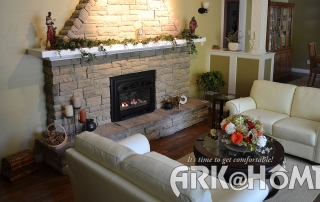 Decorating tips for your winter hearth